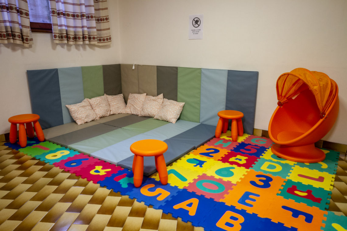 Hotel Stella Alpina Bellamonte Baby Room